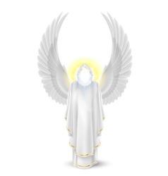 White angel vector