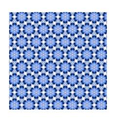 Mosaic Flower Background vector image