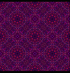 Abstract violet gem stone oriental pattern vector