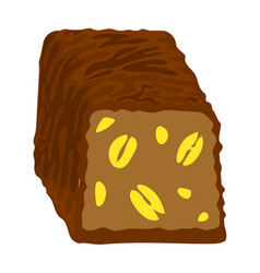 Choco bonbon icon cartoon style vector