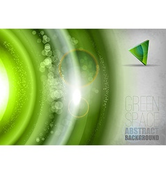 Green Universe vector image