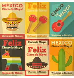 Mexico posters vector