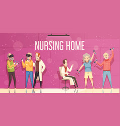 Nursing home vector