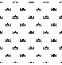 Taj mahal pattern vector