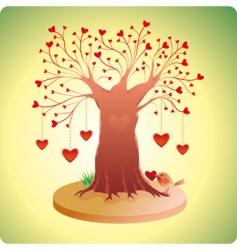 Valentine's tree vector