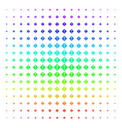 warning icon halftone spectral pattern vector image