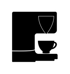 coffee maker icon vector image vector image