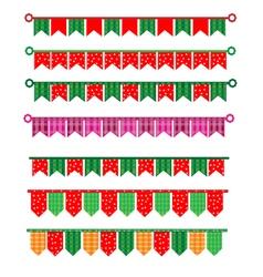 Ribbon new year vector image vector image