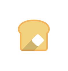 bread icon sign symbol vector image