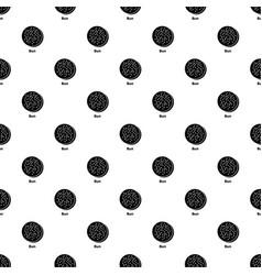 bun pattern seamless vector image
