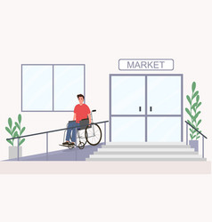 Convenience disabled people vector
