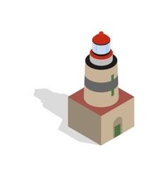 Falsterbo lighthouse Sweden icon vector