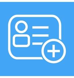 Membership Card vector image