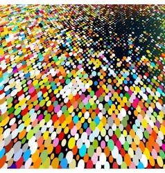 Multicolored Abstract Mosaic Background EPS 8 vector image
