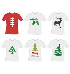 T-shirt templates design vector