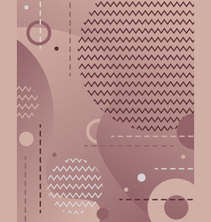 unique geometric background with gradient shapes vector image