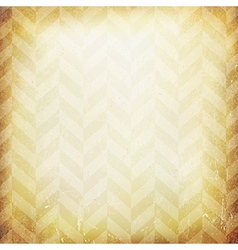 Vintage chevron pattern old paper background vector