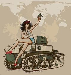 Viva revolution Hand drawn vector