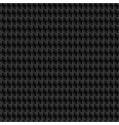 3d black background with circles vector image vector image