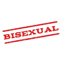 Bisexual Watermark Stamp vector image vector image