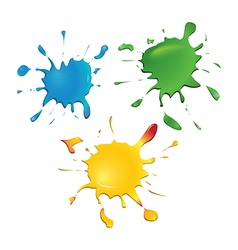 Ink Blots vector image vector image
