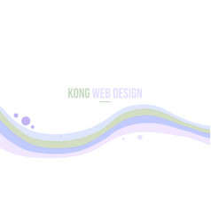 Abstract header website purple wave modern design vector