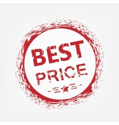 Best price stamp vector