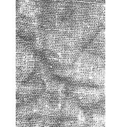 Black dusty grainy texture fabric grainy abstract vector
