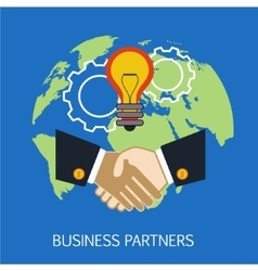 Business Partners Concept Art vector
