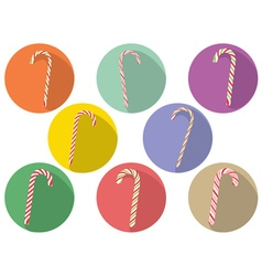 Candy Canes Set6 vector