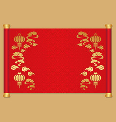 Chinese new year template background vector