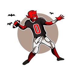 Devil Quarterback vector