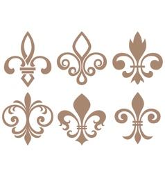 fleur de lis symbol vector image