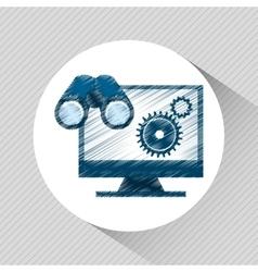Seo concept design vector