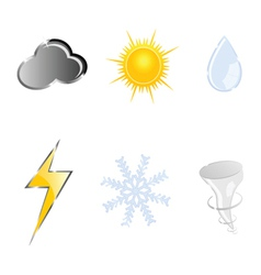 sign for weather vector image
