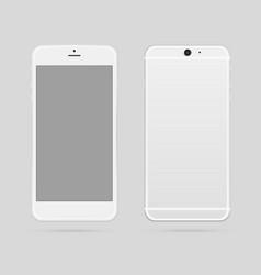 smart phone mockup vector image