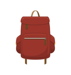 Journey valise vector image vector image