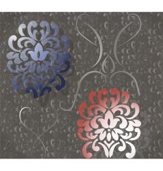 Vintage ornaments pattern vector