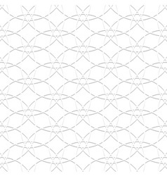 3d white pattern in arabic style vector image