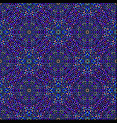 Abstract colorful stone mosaic oriental pattern vector