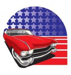 American style vector
