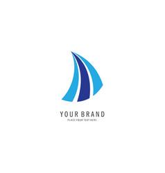 finance symbol logo vector image