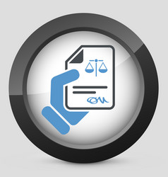 Legal document vector