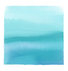 Watercolour seascape background vector