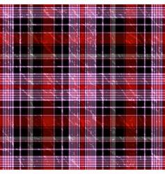 seamless checkered grunge pattern vector image