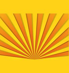 Abstract background cartoon sunlight yellow vector