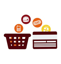 commerce concept vector image
