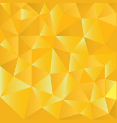 gold polygons triangle shapes background abstract vector image