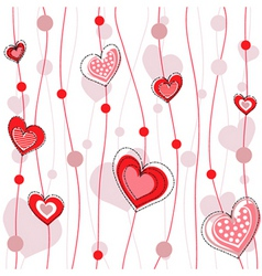 Heart decorative design vector