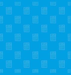 invitation pattern seamless blue vector image
